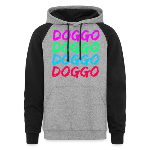 That 70's Doggo - Colorblock Hoodie