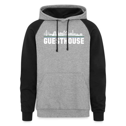 Guesthouse - Oakland Skyline - Unisex Colorblock Hoodie
