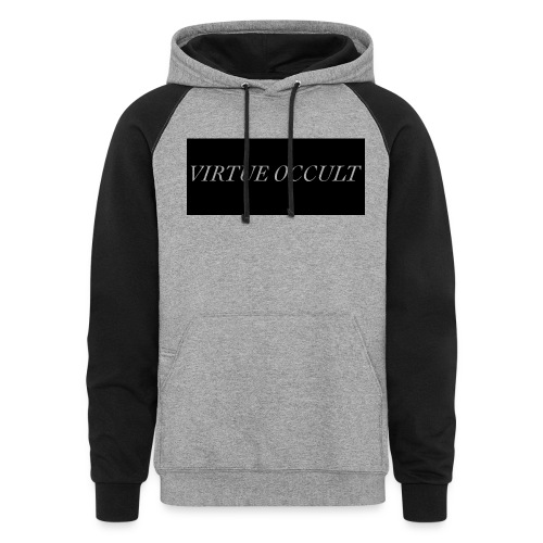 The First - Unisex Colorblock Hoodie