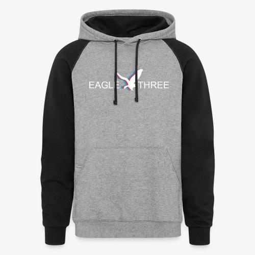 EAGLE THREE APPAREL - Colorblock Hoodie