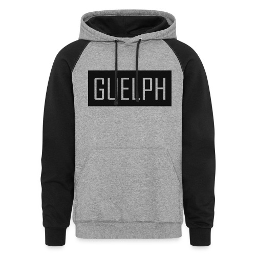 Guelph Logo - Unisex Colorblock Hoodie