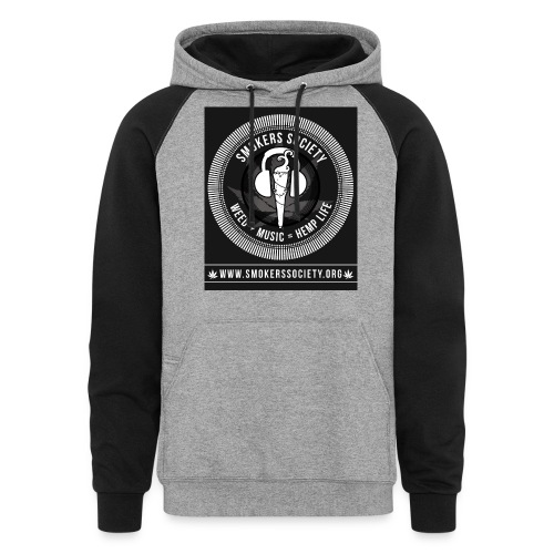 Smokers Society - Unisex Colorblock Hoodie