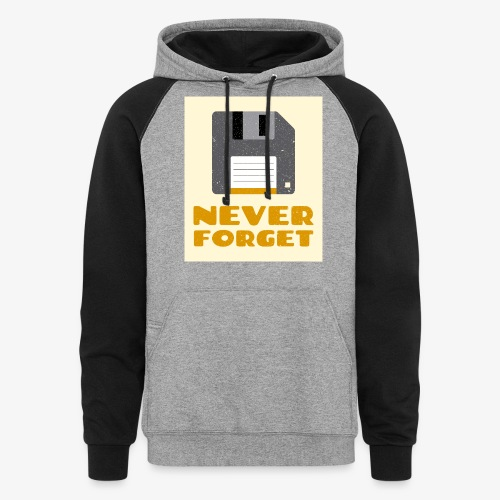 Never Forget - Colorblock Hoodie