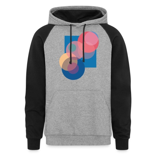 Just That Clean Bubble - Unisex Colorblock Hoodie