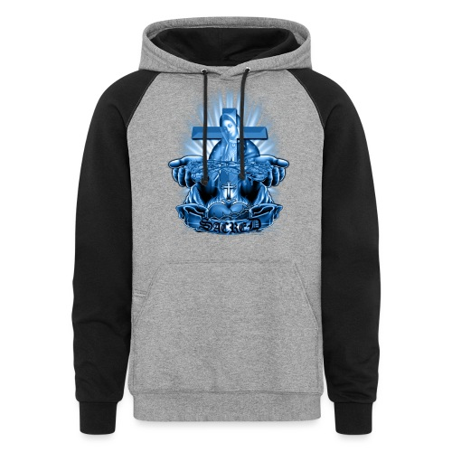Sacred by RollinLow - Colorblock Hoodie