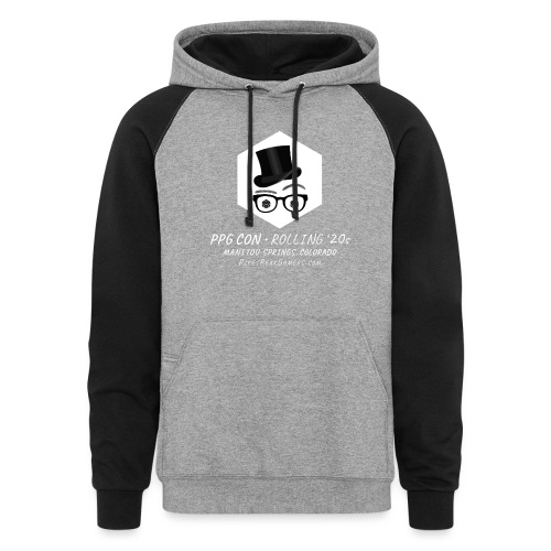 Pikes Peak Gamers Convention 2020 - Unisex Colorblock Hoodie