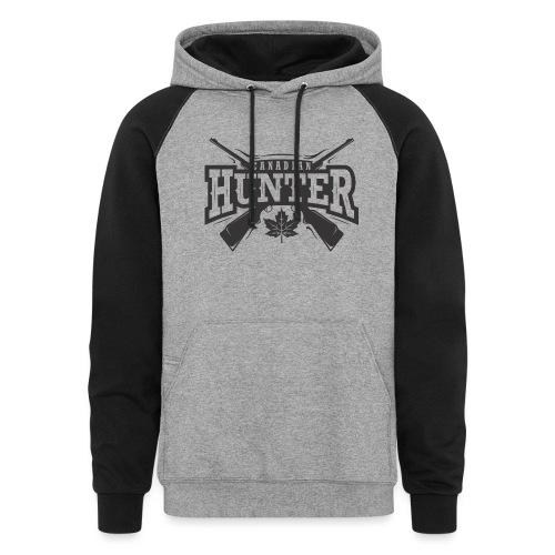 Canadian Hunter - Unisex Colorblock Hoodie