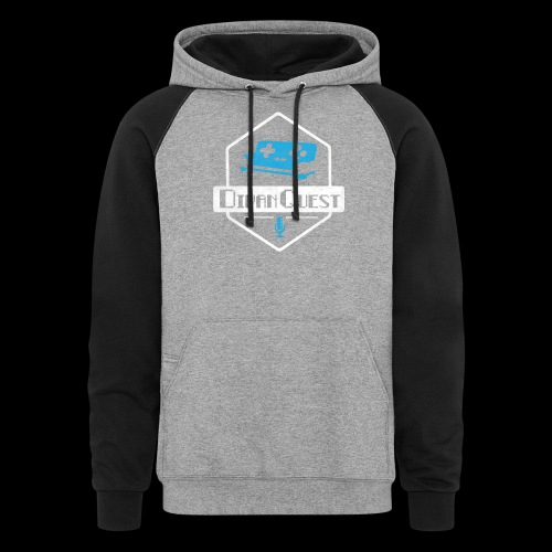 DivanQuest Logo (Badge) - Colorblock Hoodie