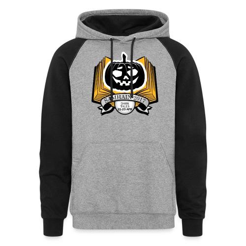 Samhain 2017 Logo shirt - Colorblock Hoodie