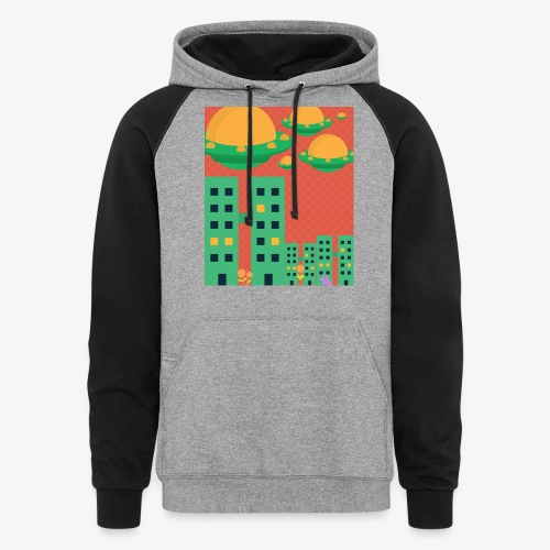 wierd stuff - Colorblock Hoodie