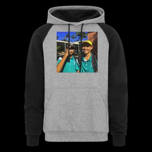 wasted youth. - Colorblock Hoodie