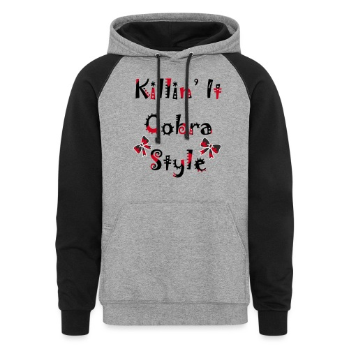 Killin' It Cobra - Colorblock Hoodie
