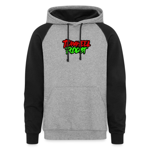 TEAMHEEL Podcast RedNGreen - Colorblock Hoodie