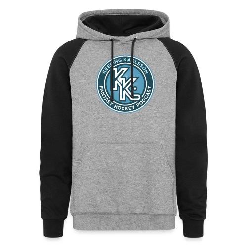 Keeping Karlsson Circle Logo - Unisex Colorblock Hoodie