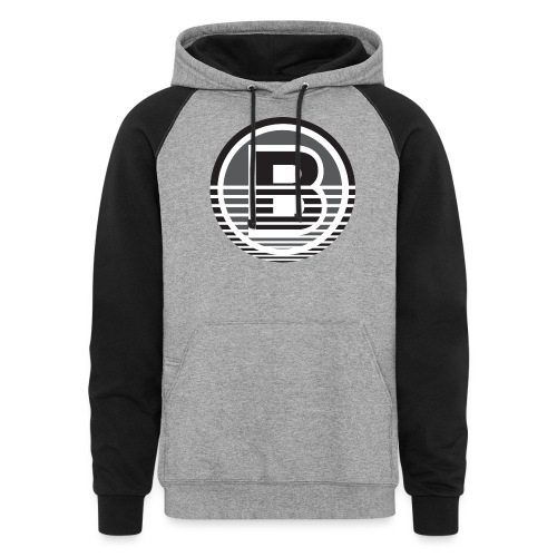 Backloggery/How to Beat - Unisex Colorblock Hoodie