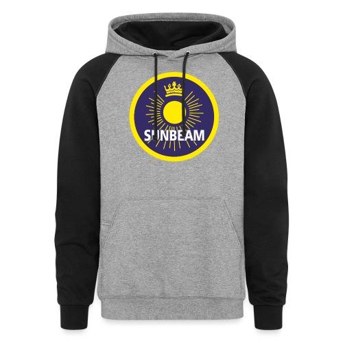 Sunbeam emblem - AUTONAUT.com - Colorblock Hoodie