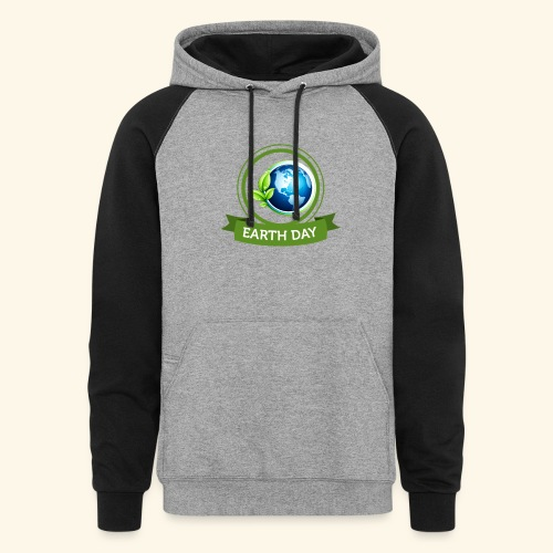Happy Earth day - 3 - Colorblock Hoodie