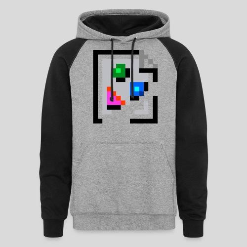 Broken Graphic / Missing image icon Mug - Unisex Colorblock Hoodie