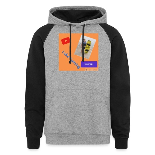 Luke Gaming T-Shirt - Colorblock Hoodie
