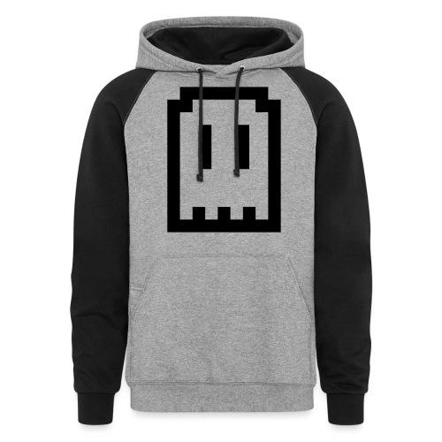 Ghost Logo - Unisex Colorblock Hoodie