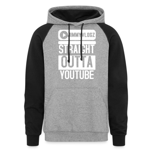 Straight Outta YouTube Merch! - Colorblock Hoodie