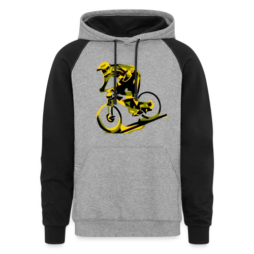 DH Freak - Mountain Bike Hoodie - Colorblock Hoodie
