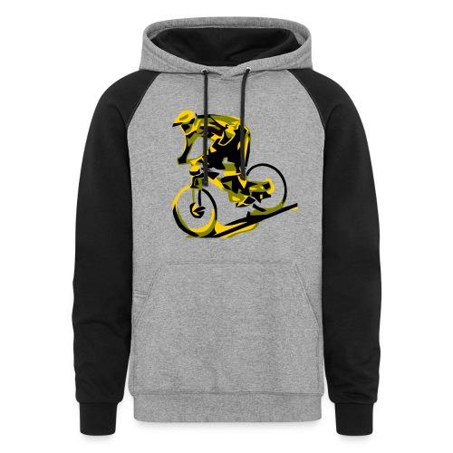 DH Freak - Mountain Bike Hoodie - Colorblock Hoodie