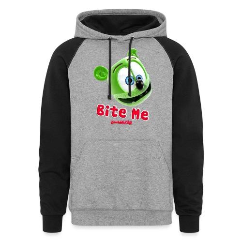 Bite Me - Colorblock Hoodie