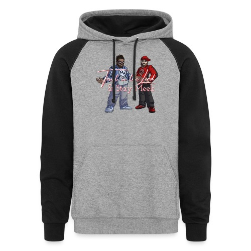 Trust in the Lord MH shirt Official - Unisex Colorblock Hoodie