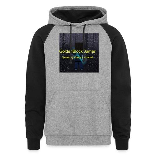 GoldenBlockGamer Tshirt - Colorblock Hoodie