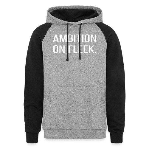 Ambition on FLEEK - Colorblock Hoodie