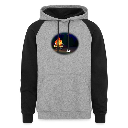 'Round the Campfire - Colorblock Hoodie