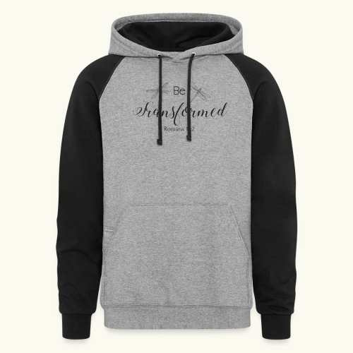Be Transformed Shop - Colorblock Hoodie