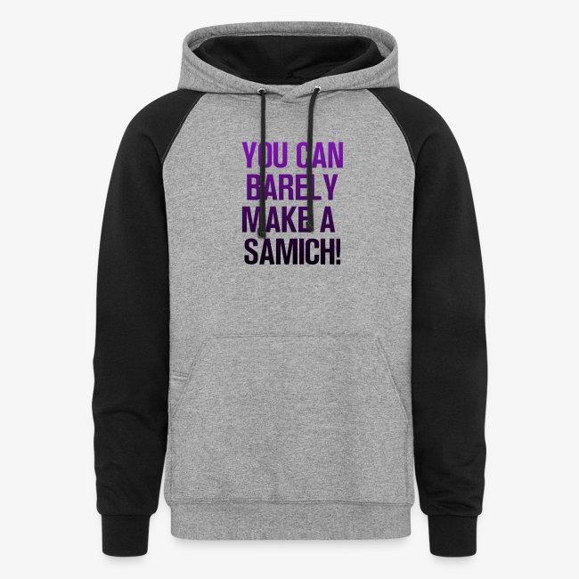 You Can Barely Make A Samich - Miranda Sings