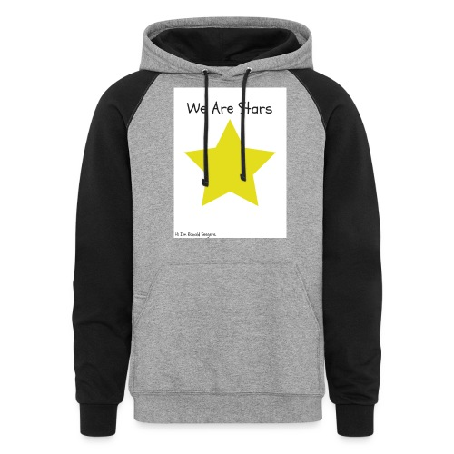 Hi I'm Ronald Seegers Collection-We Are Stars - Colorblock Hoodie