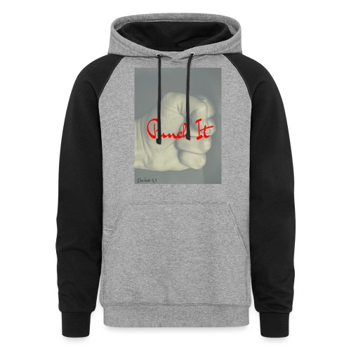 Punch it by Duchess W - Colorblock Hoodie