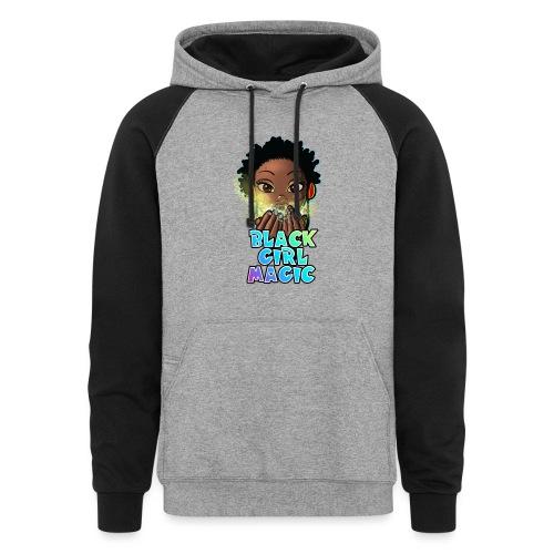 Black Girl Magic - Unisex Colorblock Hoodie