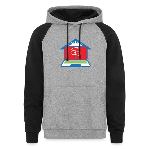 EP Logo Only - Unisex Colorblock Hoodie