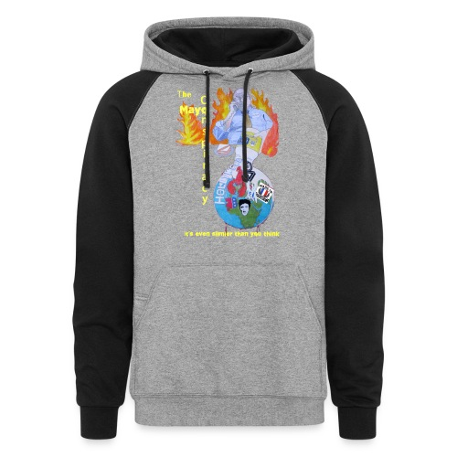 Mayo-Conspiracy - Colorblock Hoodie