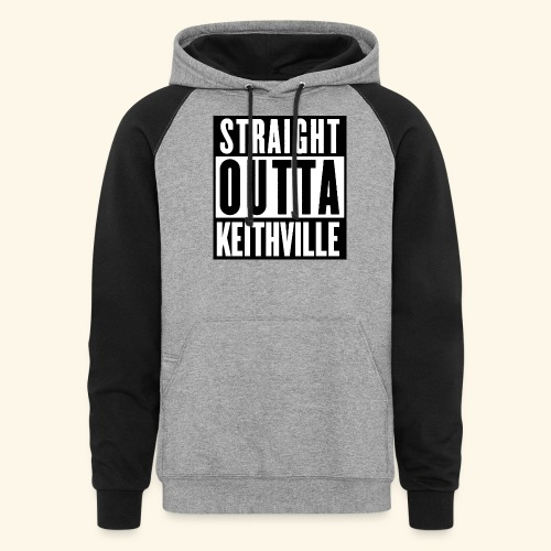 STRAIGHT OUTTA KEITHVILLE - Colorblock Hoodie