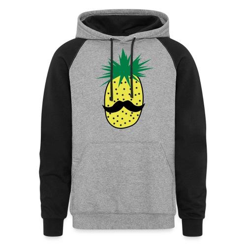 LUPI Pineapple - Unisex Colorblock Hoodie