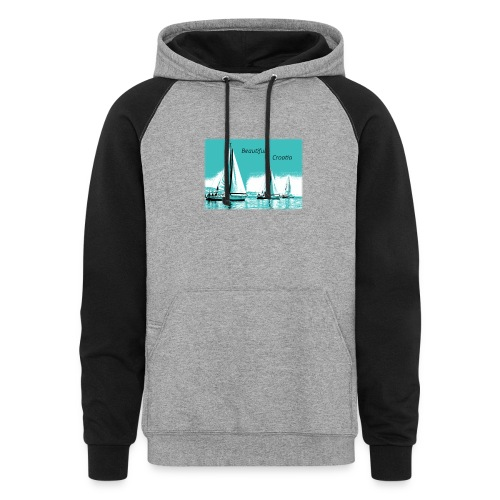 Beautiful Croatia - Colorblock Hoodie