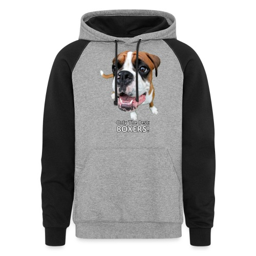 Only the best - boxers - Colorblock Hoodie