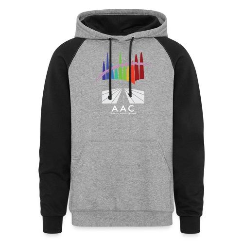 Alberta Aurora Chasers - Men's T-Shirt - Colorblock Hoodie