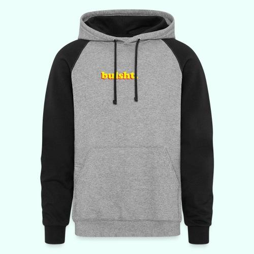 BulSht. Logo - Colorblock Hoodie