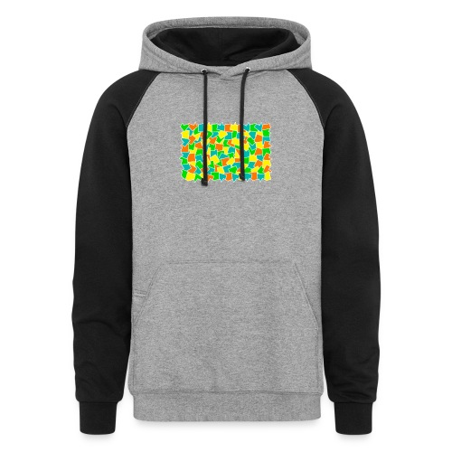Dynamic movement - Colorblock Hoodie