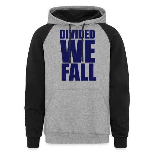 DIVIDED WE FALL - Colorblock Hoodie
