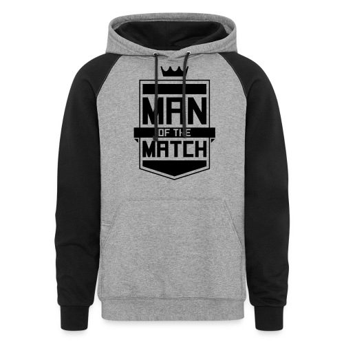 Man of the Match - Colorblock Hoodie
