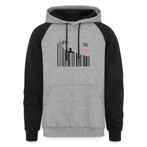 Think Different - Colorblock Hoodie