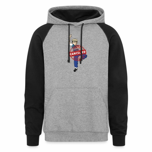 Cookout cancelled - Unisex Colorblock Hoodie